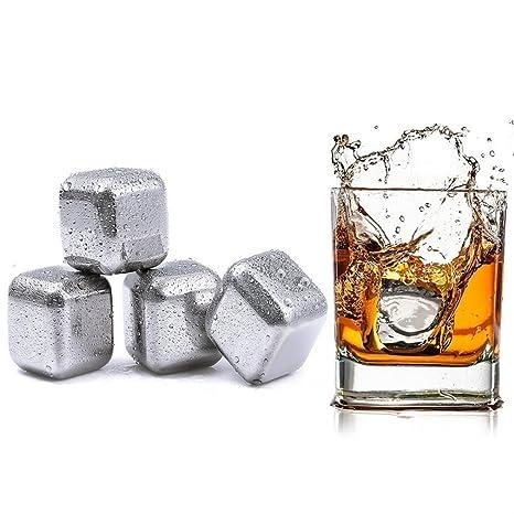 Compra niceao reutilizable cubitos de hielo, acero ...