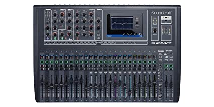 Soundcraft SI Impact 32 Channel Digital Mixer: Amazon in: Musical