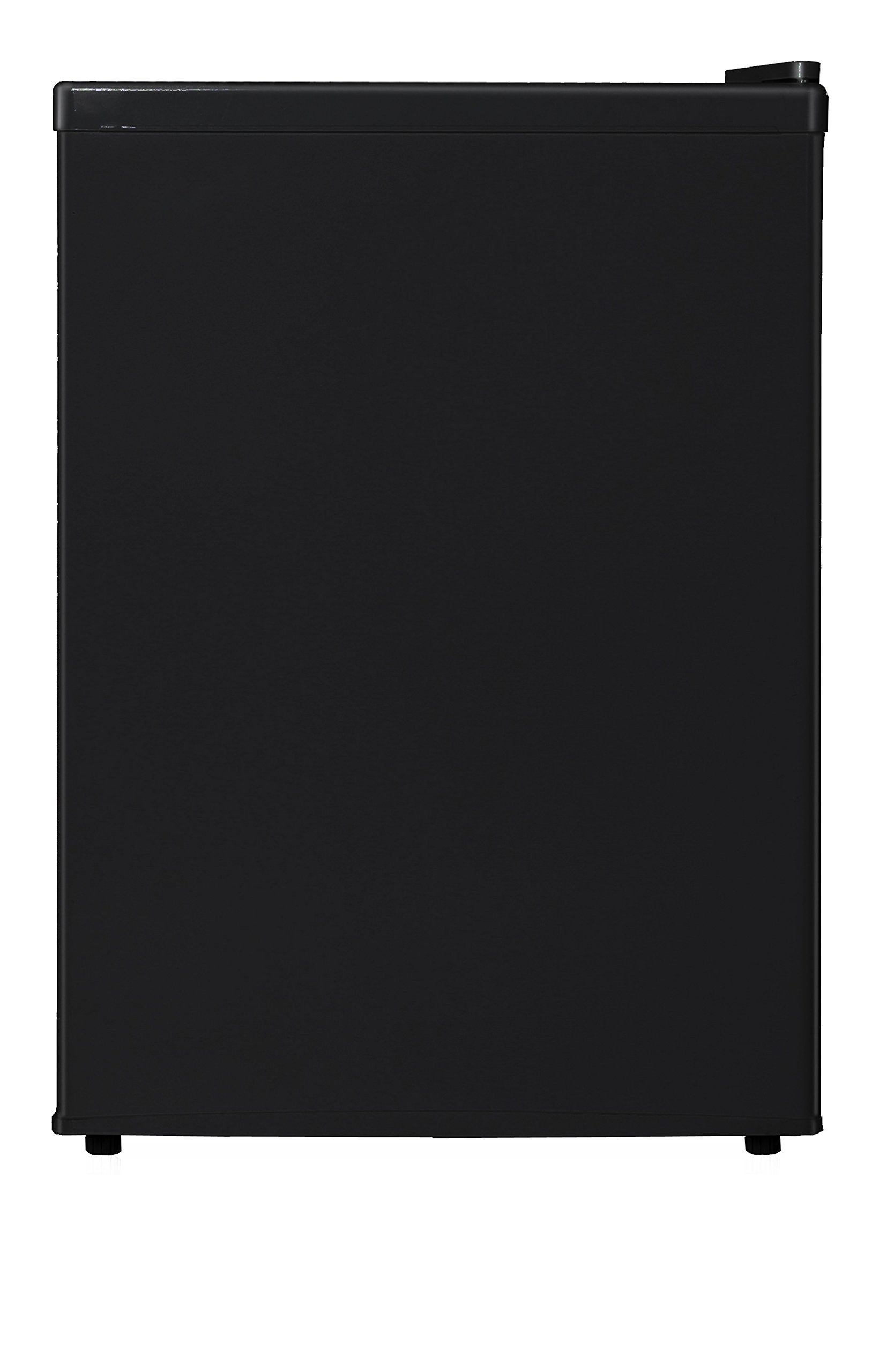 Midea WHS-87LB1 Compact Single Reversible Door Refrigerator and Freezer, 2.4 Cubic Feet, Black