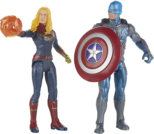 Amazon.com: Avengers Marvel Endgame - Juego de 2 personajes ...