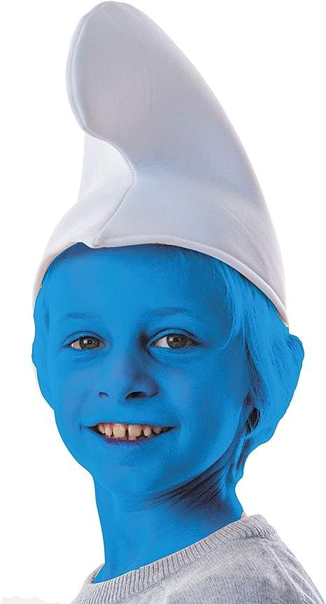 Gorro pitufo blanco niño: Amazon.es: Juguetes y juegos