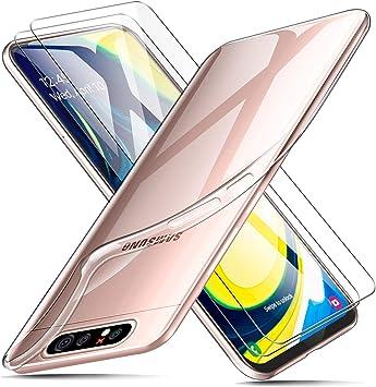 AROYI Funda + 2 X Protector de Pantalla para Samsung Galaxy A80 ...