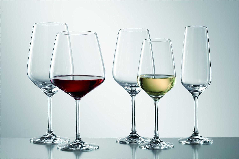Tritan Kristalglas 11.1 cm Schott Zwiesel Burgunder Taste 140 Goblet Transparente 6