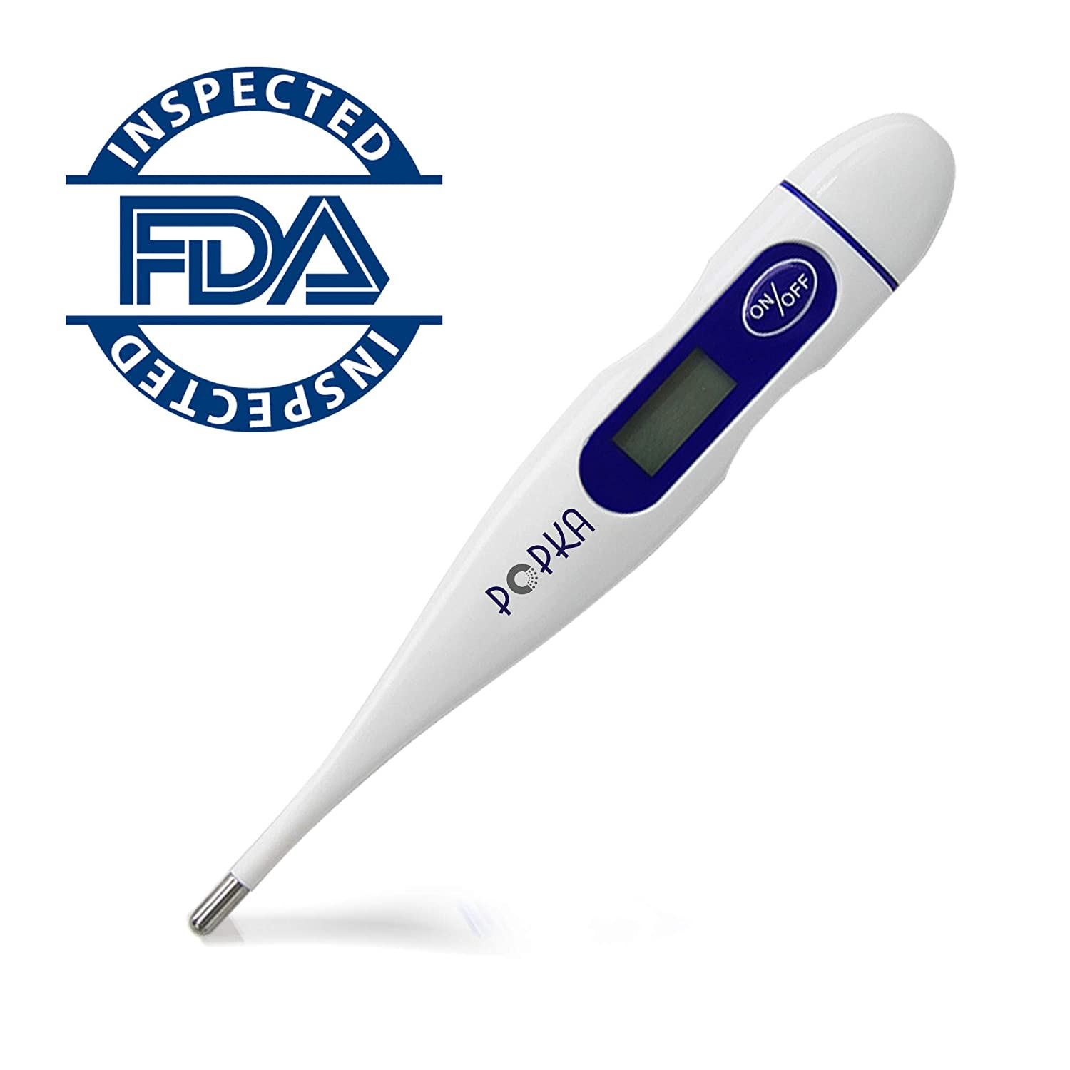 MALSA Digital Basal Thermometer for Ovulation Tracking BBT - Quick Reading,  Highly Accurate 1/100th