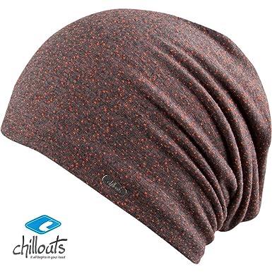 Damen-accessoires Chillouts Unisex Long Beanie Mütze Freetown Mütze Neon-dunkelgrau Leicht