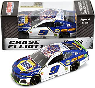 Lionel Racing Chase Elliott 2019 Charlotte Roval Win NAPA Raced Version NASCAR Diecast Car 1:64 Scale