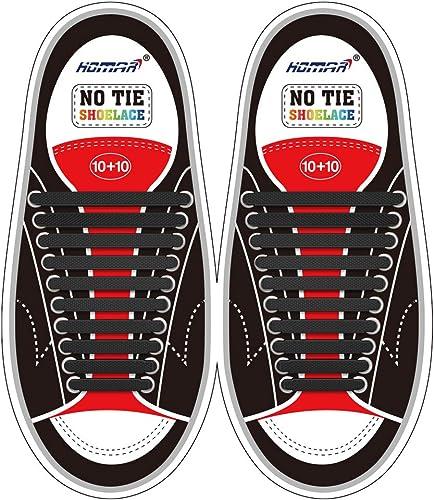 Elastic Athletic Flat No Tie Shoelaces