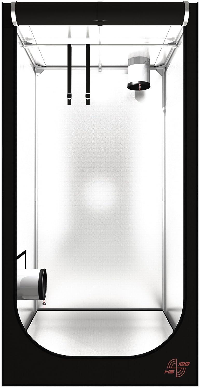 Secret Jardin Hydro Shoot 40 60 80 100 120 Grow-box Grow-room Growschrank Grow-zelt Darkroom verschiedene Größen Pflanzen-zelt (HS100 100x100x200 cm) Grow Gewächshaus Indoor für Chili Zuchtzelt