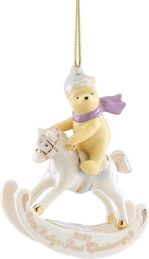 Winnie The Pooh Christmas Ornaments 2020 Amazon.com: Lenox 2020 Winnie The Pooh Baby's 1st Christmas