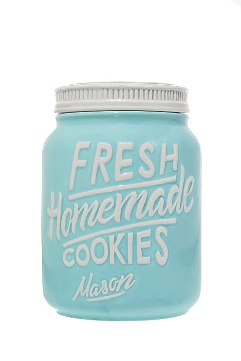 Rustic Cookie Jar Awesome Amazon Blue Ceramic Mason Jars Cookie Jar Keep Your Cookies