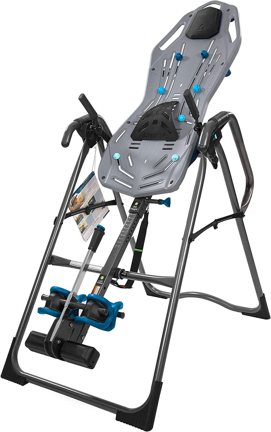 Teeter FitSpine X3 Inversion Table with Deluxe Easy-to-Reach Ankle Lock