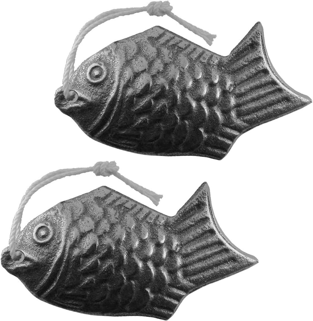 Lisol Pasific Iron Fish, una herramienta de cocina para agregar hierro seguro al agua y a los alimentos, una alternativa de suplemento de hierro, Ideal para veganos, embarazadas y deportistas
