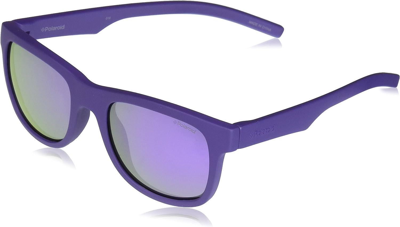 Polaroid PLD 8020/S MF 2Q1 46 Gafas de sol, Morado (Violet/Grey), Unisex Niños