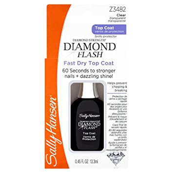 Amazon.com : Sally Hansen Treatment Diamond Flash Fast Dry Top ...