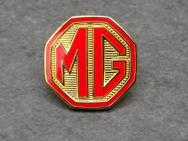 MG PIn in rot MGA MGB MGC MGF BMC Austin Morris Rover Mark VA WA SA TA TB