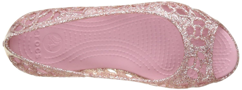 Ballerines Fille Crocs Isabella Glitter Flat GS Blsm
