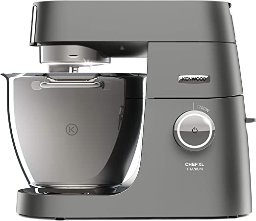 Kenwood Electronics KVL8361S - Robot de cocina (6.7 L, Beige, Rotary, 1.6 L, Stainless steel, Stainless Steel): Amazon.es: Hogar