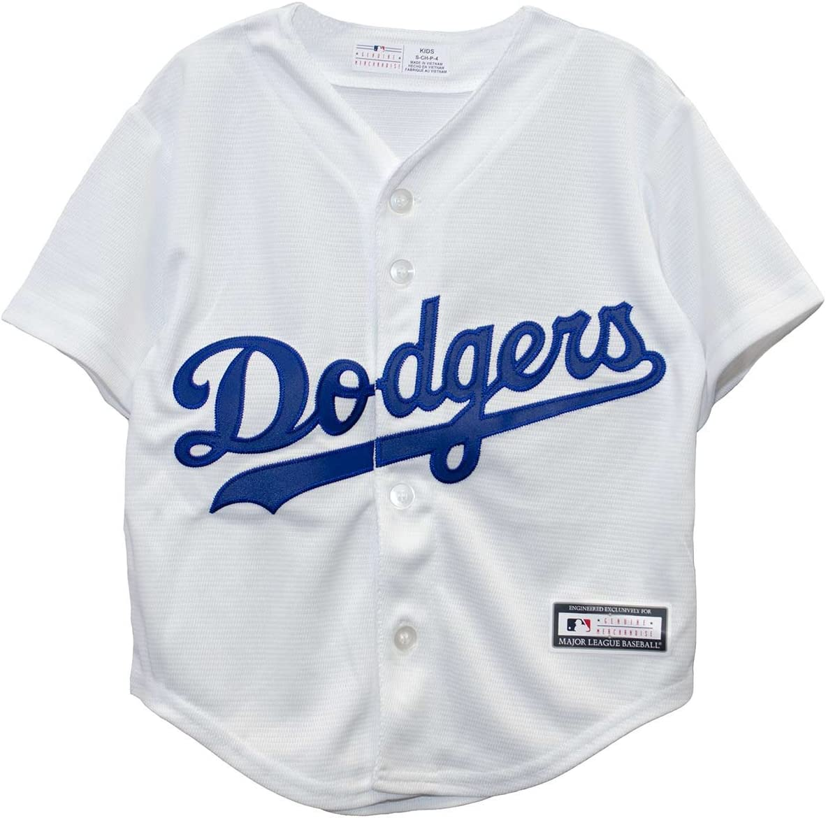Majestic New Born Toddlers Infants LA Dodgers Los Angeles White Jersey