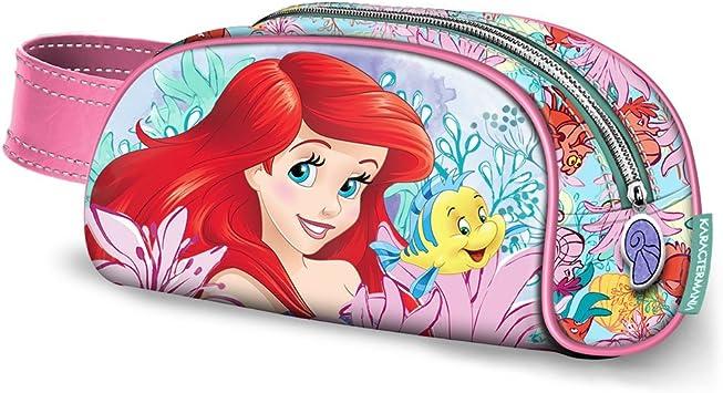 Disney- Ariel Estuche Portatodo, Multicolor, 21 cm (Karactermania ...