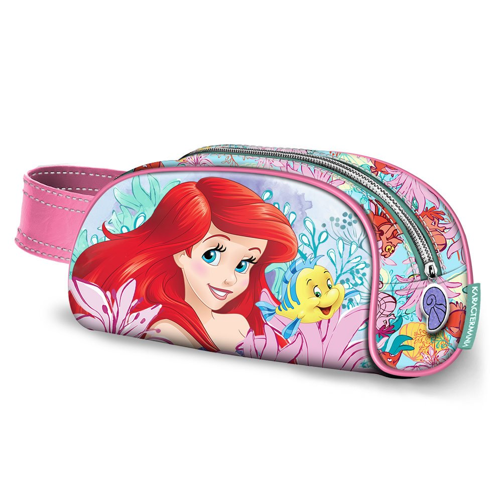 Karactermania Ariel Coral-Book Pencil Case Federmäppchen, 21 cm, Pink 37366