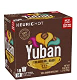 Yuban Original Medium Roast Keurig K Cup Coffee Pods 18