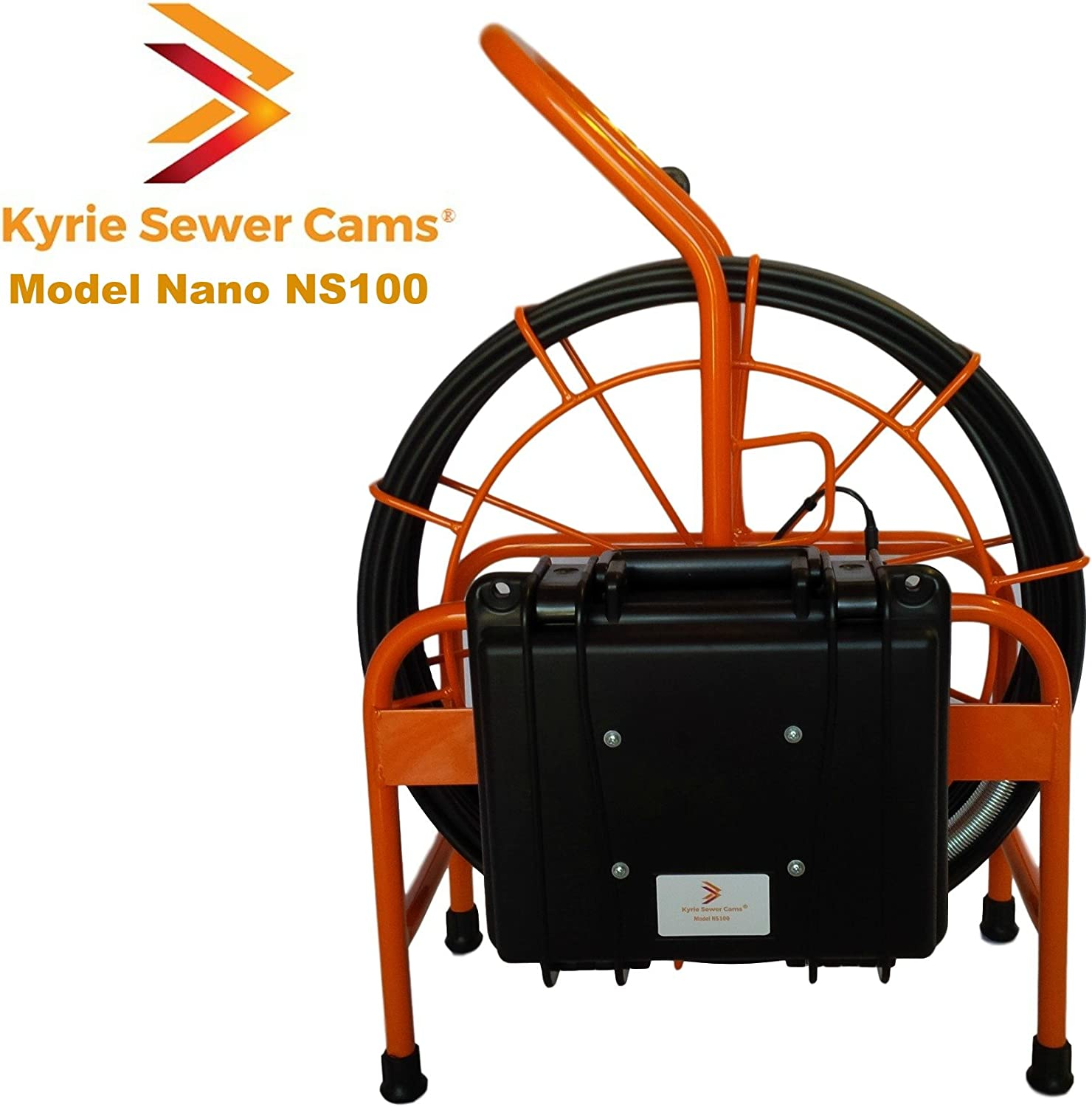 "Kyrie Cam Nano NS100-100 ft Sewer Camera with 512 hz Sonde 1.5"" - 4"" Pipes"