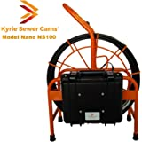 "Kyrie Cam Nano NS100 - 100 ft sewer camera with 512 hz Sonde 1.5"" - 4"" pipes"