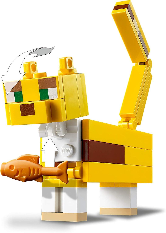 LEGO 21156 Minecraft BigFig Creeper und Ozelot Bauset