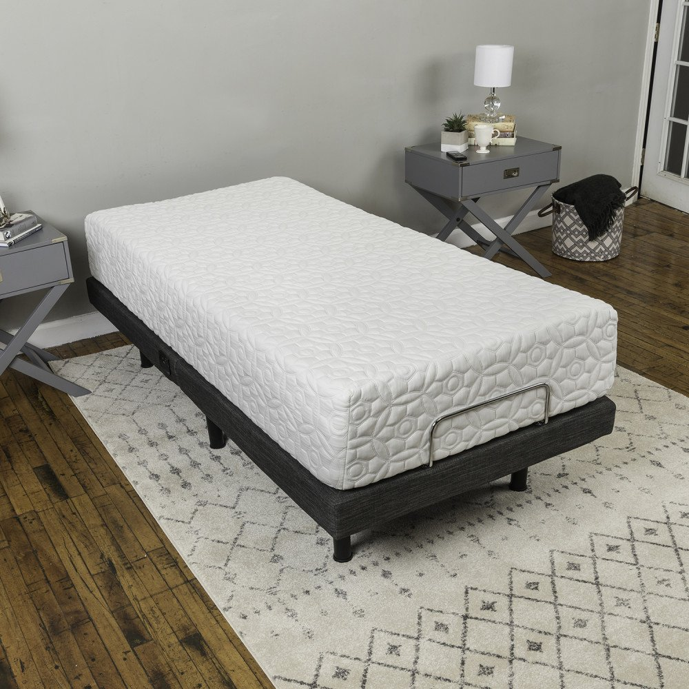 Classic Brands Adjustable Comfort Adjustable Bed Base with Massage, Wireless Remote and USB Ports by Classic Brands (Image #23)