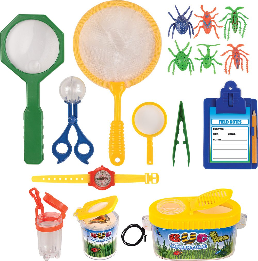 amazon com kangaroo u0027s insect bug adventure set 18 pc backyard