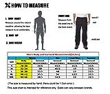 MIER Men's Sports Pants Warm Up Pants with Zipper