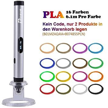 Tipeye 3D Stifte für Kinder und Erwachsene mit OLED Display und 3D ...