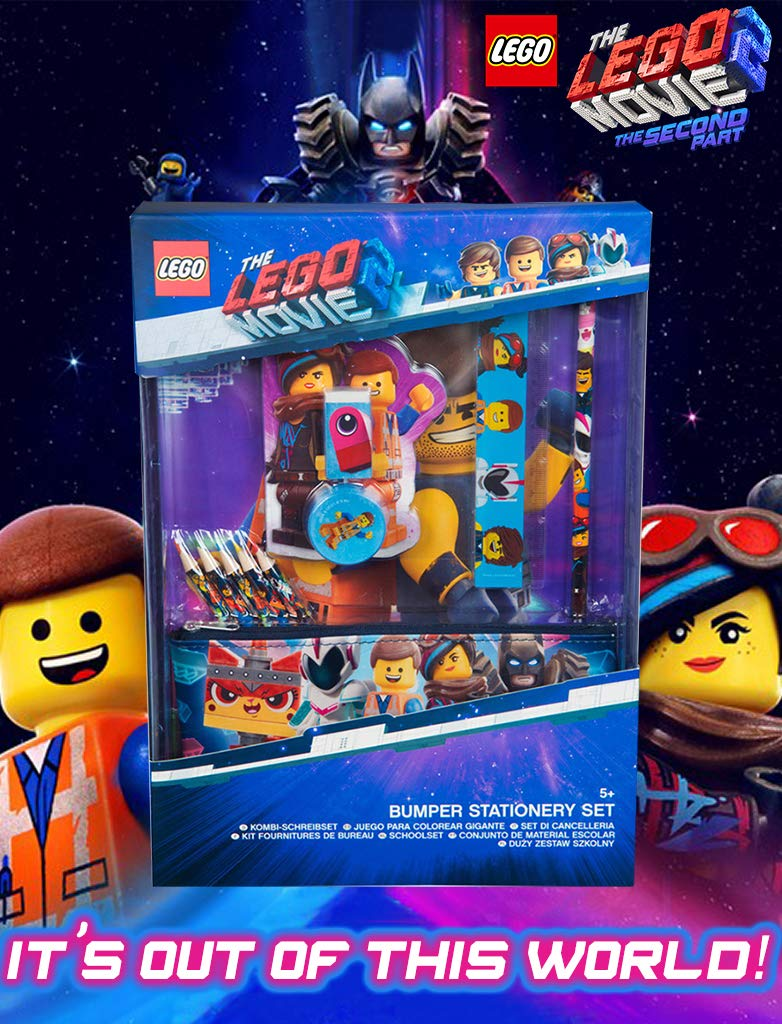 Lego Movie 2 Stationery Set For Boys And Girls Art Supplies For Kids