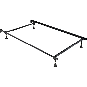 Amazon.com: Hollywood Bed Frames 3050Bl Adjustable Twin/Full Deluxe ...