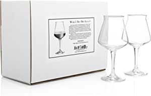 """TeKu"" The World's Best Beer Glass (Gift Box Set of 2)"