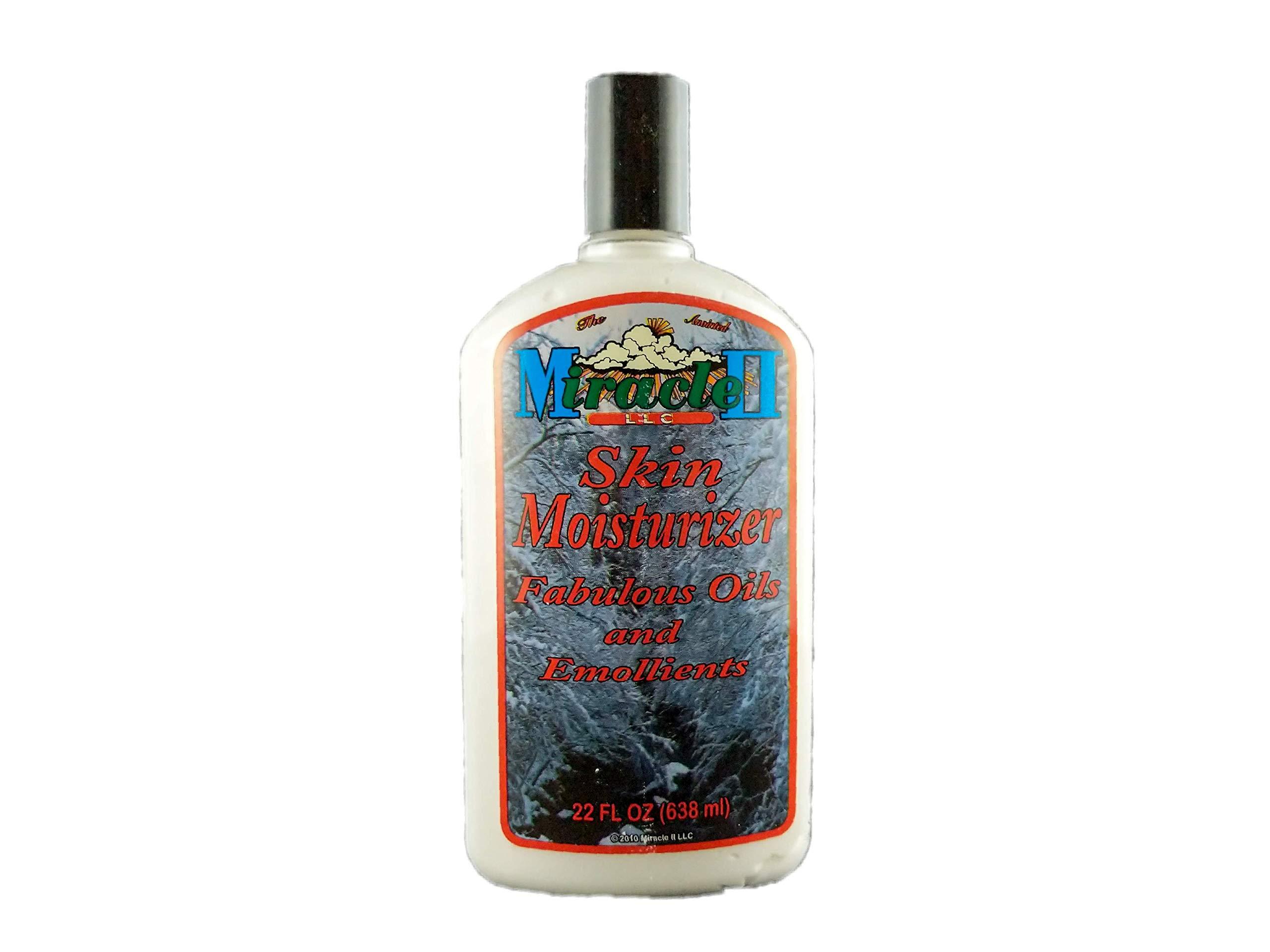 Miracle II 100% Natural Skin Moisturizer 22 Oz (Miracle 2)