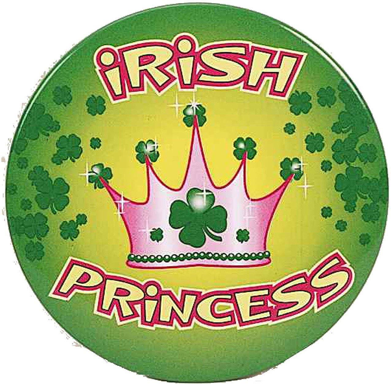 Irish Princess Novelty Button Party Accessory Favor Forum Novelties