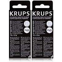 Krups XS3000 Reinigingstabletten, 2 x 10 stuks