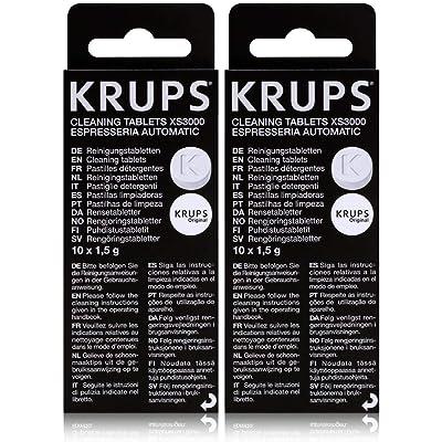 Krups XS3000 - Pastillas de Limpieza, 2 Unidades