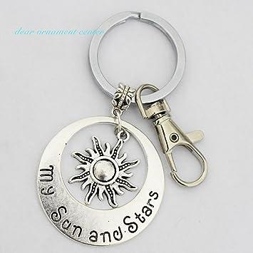 Encanto Sol y Mi Sol y estrellas llavero - clave cadenas ...