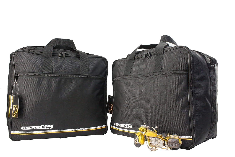 made4bikers Promotion: Bolsas Interiores Adecuado para de los Modelos BMW R1250GS Adventure (K51) a Partir de 2018 (R1250 GS) - para los Casos de ...