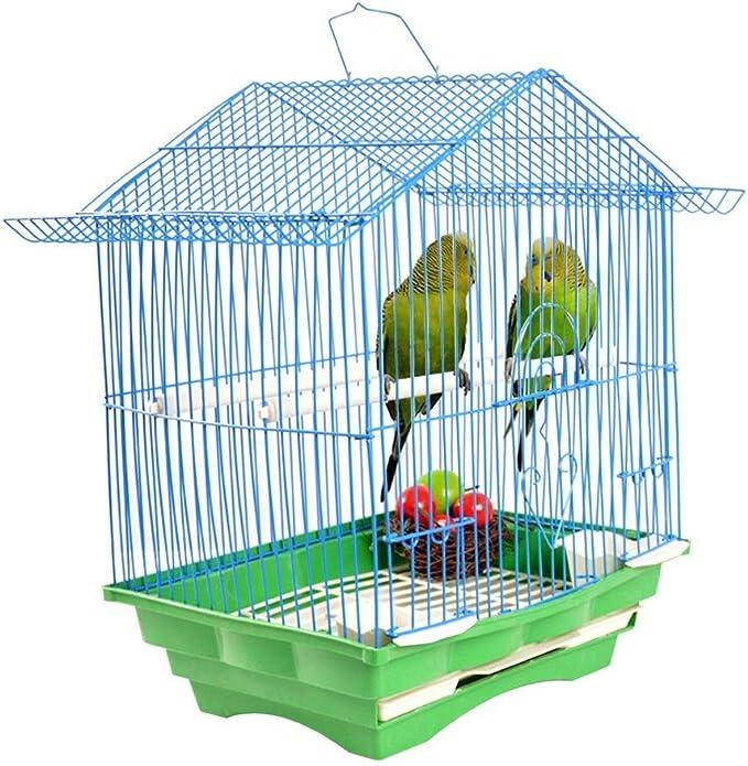 Qiming Jaulas de pájaros perico Loro La Jaula de pájaros de Mascotas Jaula de pájaros de Jaula de hámster Myna Loro Paloma Jaula Thrush Universal Jaula del pájaro Birdhouse