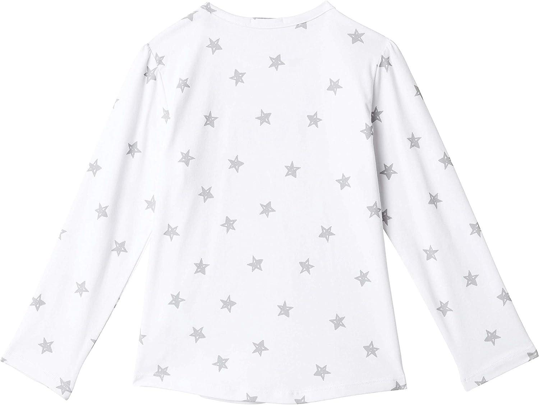 T-Shirt langarm mit Sternen