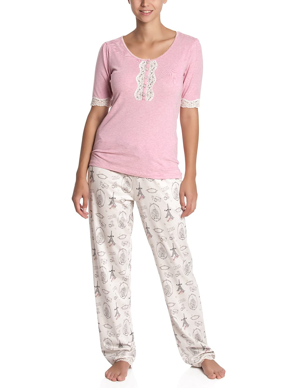Vive Maria Women's My Sweet Paris Pyjama/allover Pyjama Set