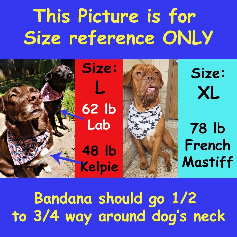 United States Coast Guard Pet No-Tie Dog Bandana