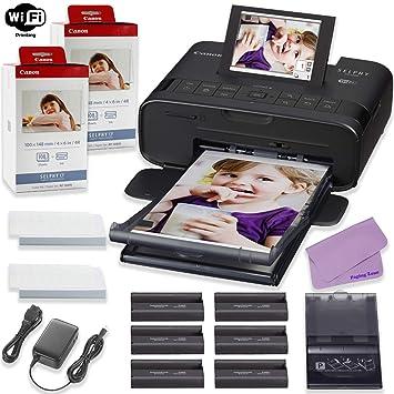 Amazon.com: Canon SELPHY CP1300 - Juego de 2 paquetes de ...