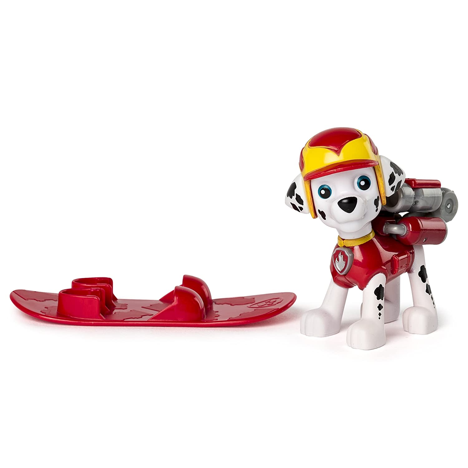 Amazon.com: Paw Patrol Winter Rescues Action Pack Pup, Snowboard Skye: Toys & Games