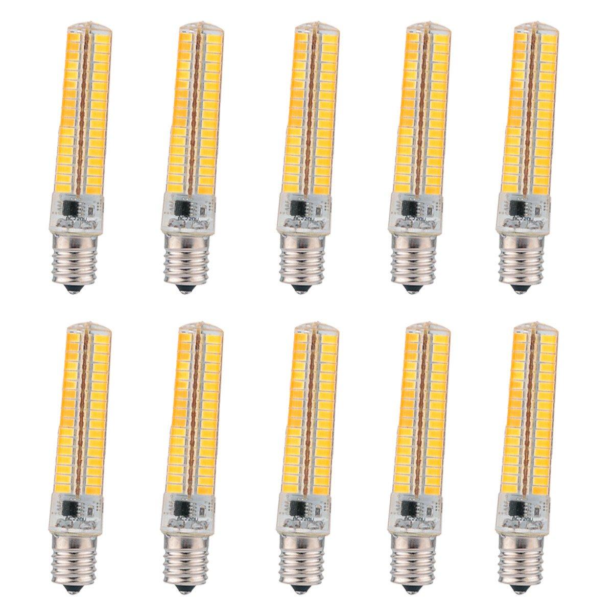 GHC LED Bi-pin Lights, E27/E26 12W 24LED AC 220-240V 5730SMD 1000-1100 LM Warm White Cool White UFO Lamp (Color : 110V-Cold White)