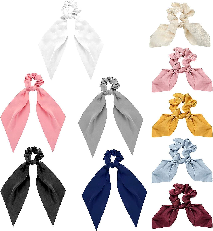 YADOCA 10 Piezas Banda para el Cabello para Mujeres Niñas elástica Vintage Cabello Accesorios