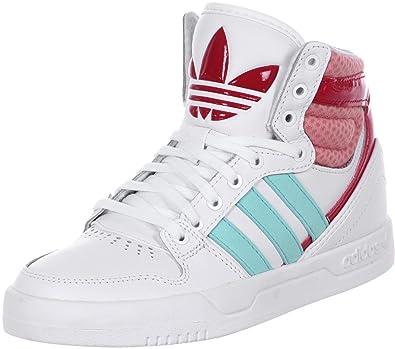 the latest 3712a e4285 adidas Boys Court Attitude K Lace up Shoes